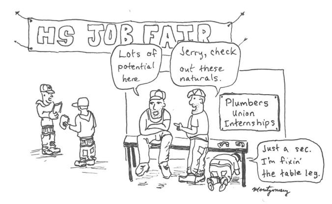 Plumber potential
