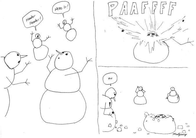 Snowman Soccer